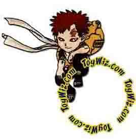 Naruto Accessories Official Patch Chibi Gaara of the Sand