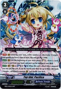 Cardfight Vanguard ENGLISH Banquet of Divas Single Card SP Rare EB02-S01EN Top Idol, Pacifica
