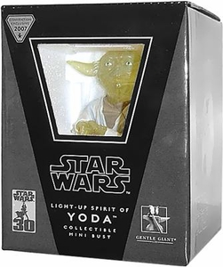 Star Wars Gentle Giant Convention Exclusive Mini Bust Light-Up Spirit of Yoda