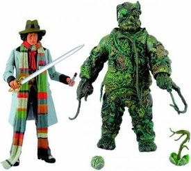 Doctor Who Action Figure 2-Pack The Seeds of Doom Collectors Set [4th Doctor & Krynoid]