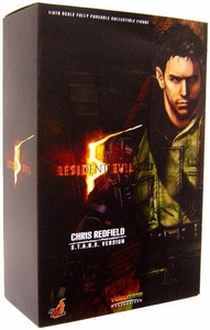 Hot Toys Resident Evil 5 [Biohazard] Video Game Masterpiece 1/6 Scale Figure Chris Redfield [S.T.A.R.S. Outfit]