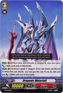Cardfight Vanguard ENGLISH Single Card Promo PR-023EN  Dragonic Waterfall