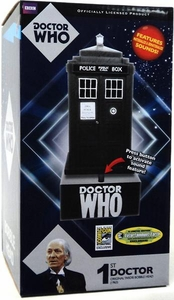 Bif Bang Pow! Doctor Who 2012 SDCC San Diego Comic Con Exclusive Bobble Head 1st Doctor Tardis