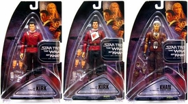 Diamond Select Toys Star Trek Wrath of Khan Series 1 Set of 3 Action Figures