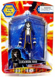 Doctor Who Underground Toys Series 2 Action Figure Clockwork Man [Blue]