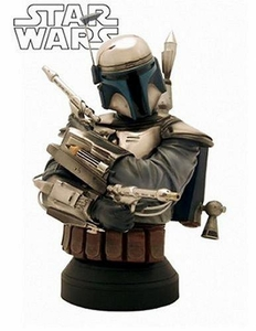 Star Wars 6.5 Inch Gentle Giant Mini Bust Jango Fett