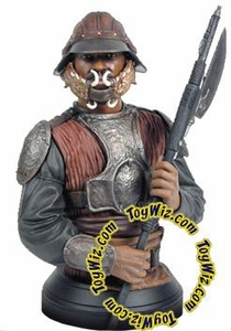 Star Wars 7.5 Inch Gentle Giant Mini-Bust Lando Calrissian in Skiff Guard Disguise