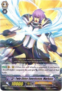 Cardfight Vanguard ENGLISH Cavalry of Black Steel Single Card Rare EB03-016EN Twin Shine Swordsman, Marhaus