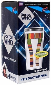Bif Bang Pow! Doctor Who Exclusive 4th Doctor Scarf Travel Mug