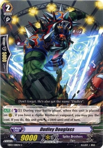 Cardfight Vanguard ENGLISH Cavalry of Black Steel Single Card Common EB03-018EN Dudley Douglass