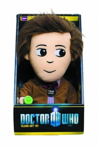 Doctor Who Medium Talking Plush 11th Doctor  Pre-Order ships March
