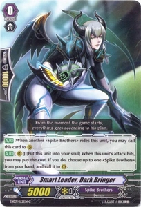 Cardfight Vanguard ENGLISH Cavalry of Black Steel Single Card Common EB03-022EN Smart Leader, Dark Bringer