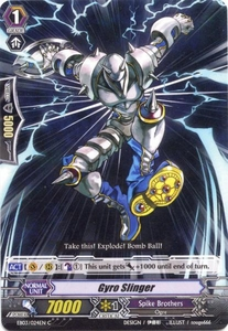 Cardfight Vanguard ENGLISH Cavalry of Black Steel Single Card Common EB03-024EN Gyro Slinger