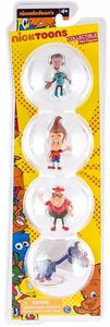 NickToons Jimmy Neutron 2 Inch Deluxe Collector 6-Pack Figurine Set Jimmy, Carl, Sheen & Goddard