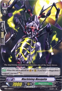 Cardfight Vanguard ENGLISH Cavalry of Black Steel Single Card Common EB03-028EN Machining Mosquito