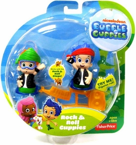 Bubble Guppies Rock & Roll Mini Figure 2-Pack Gil & Nonny