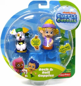 Bubble Guppies Rock & Roll Mini Figure 2-Pack Deema & Bubble Puppy