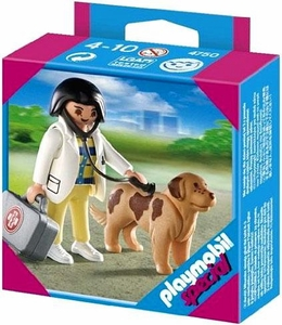 Playmobil Special Set #4750 Vet with Dog