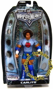 WWE Summer Slam Road to Wrestlemania 22 Series 2 Action Figure Carlito Cool