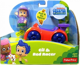 Bubble Guppies Vehicle & Figure Gil & Red Racer