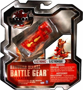 Bakugan Deluxe Electronic Battle Gear Pyrus [Red] Zukanator Random G-Power