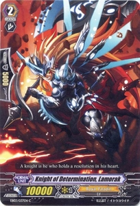 Cardfight Vanguard ENGLISH Cavalry of Black Steel Single Card Common EB03-037EN Knight of Determination, Lamorak