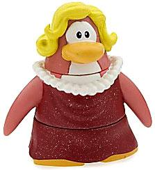 Disney Club Penguin 2 Inch Mini Figure Ruby