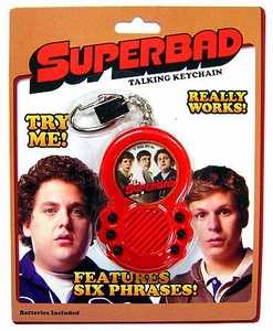 Basic Fun Superbad Talking Keychain BLOWOUT SALE!