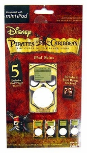 Basic Fun Exclusive Ipod Skins Pirates of the Carribean [Curse of the Black Pearl] [Mini Ipod Size] BLOWOUT SALE!