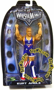 WWE Summer Slam Road to Wrestlemania 22 Series 1 Action Figure Kurt Angle