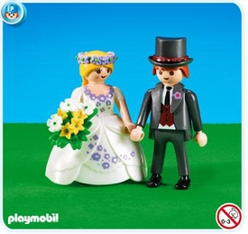 Playmobil Figures Set #7497 Bride & Groom