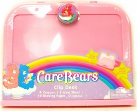 Care Bears Activity Set Clip Desk [8 Crayons, 1 Sticker Sheet. 10 Drawing Paper & Clip Desk]