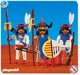 Playmobil Figures Set #7659 3 Native Americans