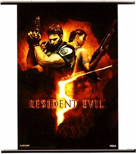 Resident Evil 5 Wall Scroll [Box Art]