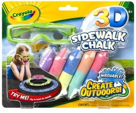 Crayola 3-D Sidewalk Chalk BLOWOUT SALE!