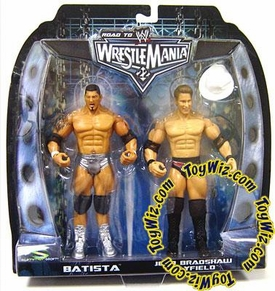 WWE Summer Slam Road to Wrestlemania 22 Series 1 Action Figure 2-Pack Batista vs. JBL