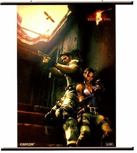 Resident Evil 5 Wall Scroll [Up Against the Wall]
