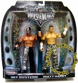 WWE Taboo Tuesday Road to Wrestlemania 22 Series 2 Action Figure 2-Pack Rey Mysterio & Matt Hardy