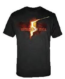 Resident Evil Adult T-Shirt RE5 Logo