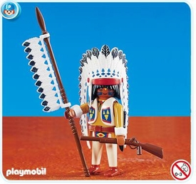 Playmobil Figure Set #7660 Native American Chief