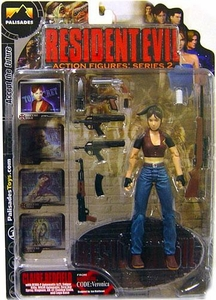 Palisades Resident Evil Series 2 Action Figure Claire Redfield {Clean Version} [Resident Evil Code: Veronica]