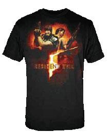Resident Evil Adult T-Shirt Box Art