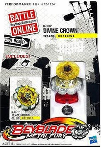 Beyblades Metal Fury Defense B-137 Divine Crown
