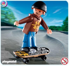 Playmobil Special Set #4754 Skateboarder