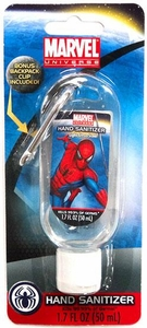 Marvel Universe Spider-Man Hand Sanitizer with Backpack Clip