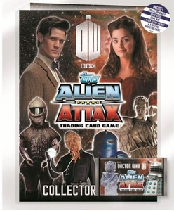 Doctor Who Alien Attax Trading Card Game Starter Pack Pre-Order ships July