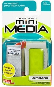 Mini Media Player MiniMedia Armband Silver BLOWOUT SALE!
