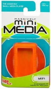 Mini Media Player MiniMedia Skin Orange Translucent BLOWOUT SALE!