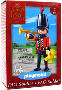 Playmobil Figures Set #5957 FAO Schwarz Soldier