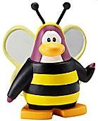 Disney Club Penguin 2 Inch Mini Figure Bumble Bee